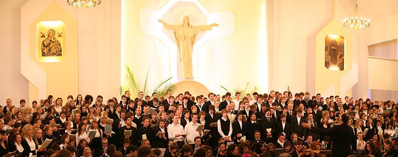 Niemieckie Requiem Łuków Kościół Alberta