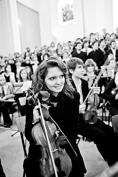 Requiem Niemieckie Brahms Łuków