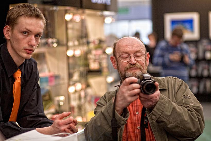 Targi foto video olympus, łodź 2009 r.