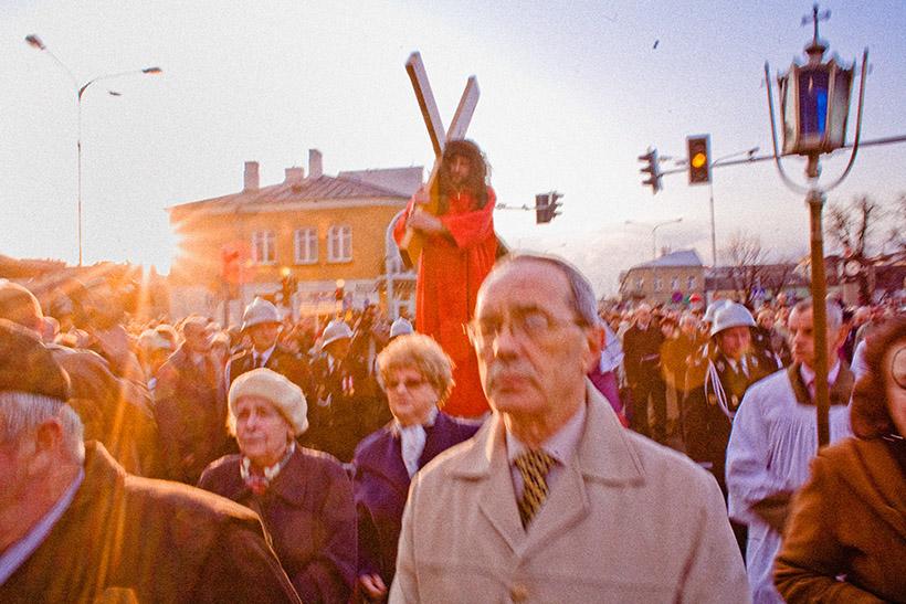 Droga Krzyża ulicami Łukowa