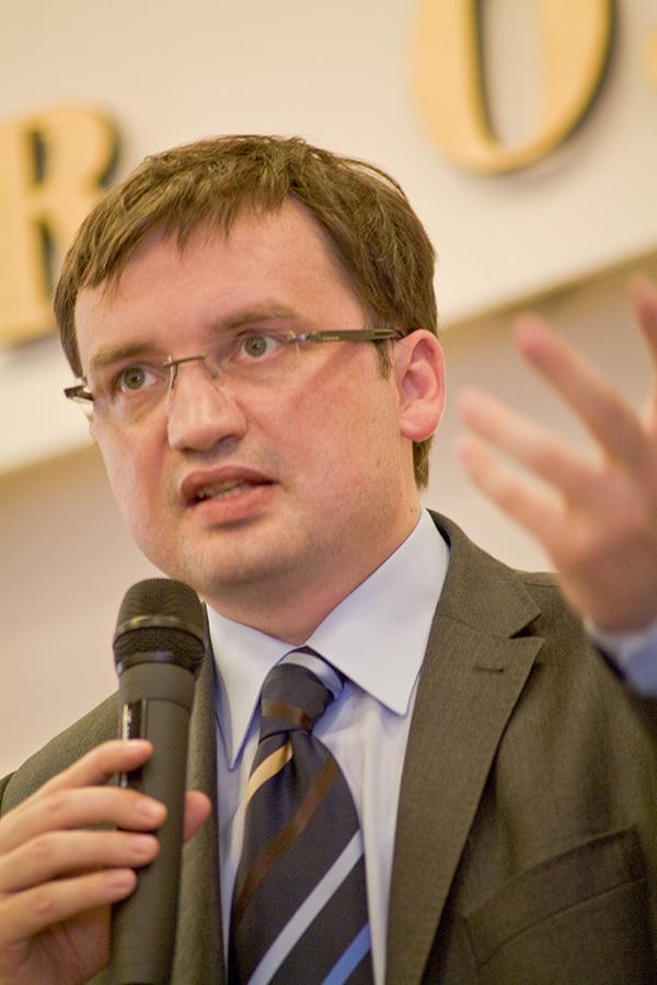 Zbigniew Ziobro w Łukowie, 4 czerwca 2010 r.