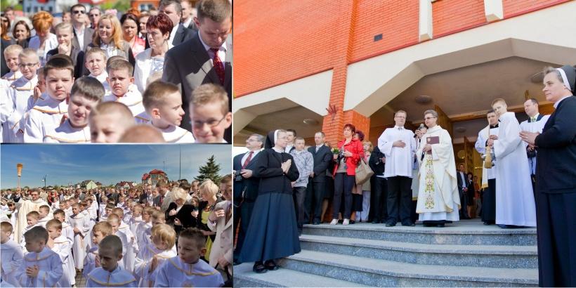 Paweł Kulenty, fotografia łuków, Michał komunia święta