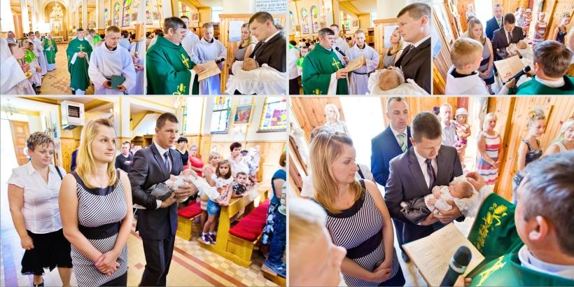 Paweł Kulenty fotografia Łuków, chrzest Dawida, chrzest Dawida