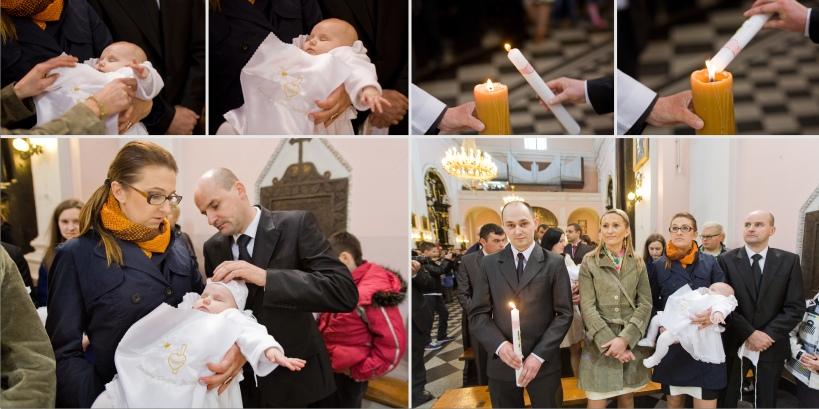 Paweł Kulenty fotografia Łuków, chrzest Leny