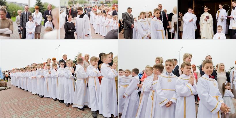 Paweł Kulenty, fotografia łuków, Wiktor komunia święta