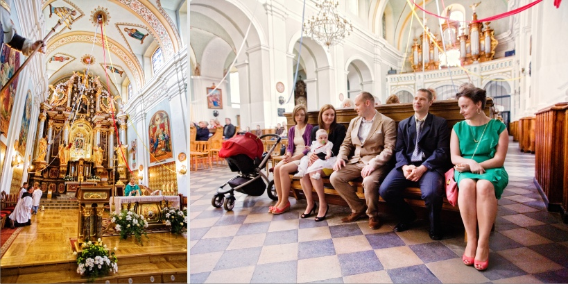 Paweł Kulenty fotografia Łuków, chrzest Vanessy